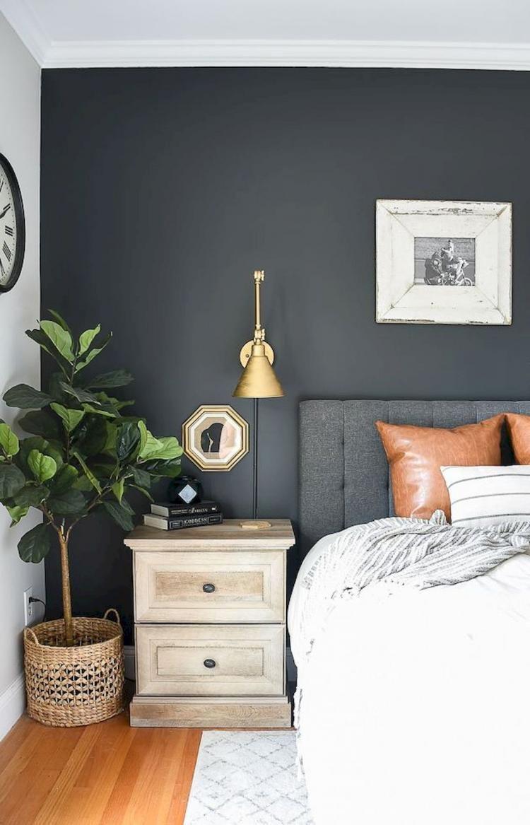 70 modern rural farmhouse bedroom decor ideas blue