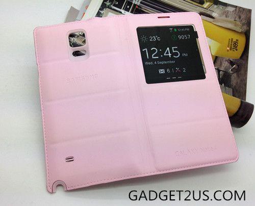 Samsung Galaxy Note4 folio Cover -Pink