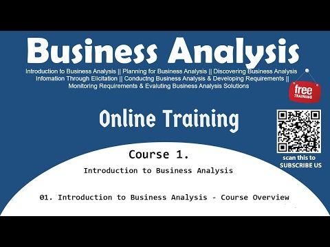 Course 1. Introduction to Business Analysis Introduction to Business ...