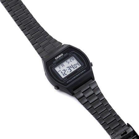 38825f32ca8 Relógio Casio Preto Fosco Vintage B640WB-1AVEF