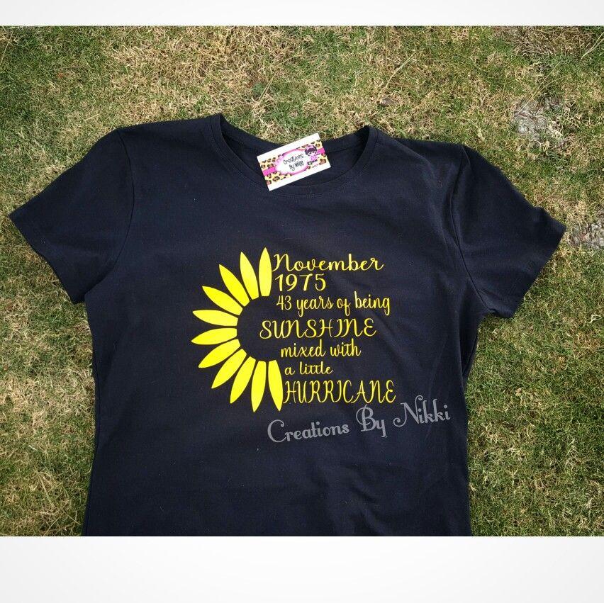 Sunflower Shirt Vinyl Shirts Sunflower Shirt T Shirts For Women