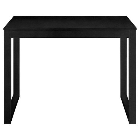 Parsons Desk Room Essentials Trade Black With Images