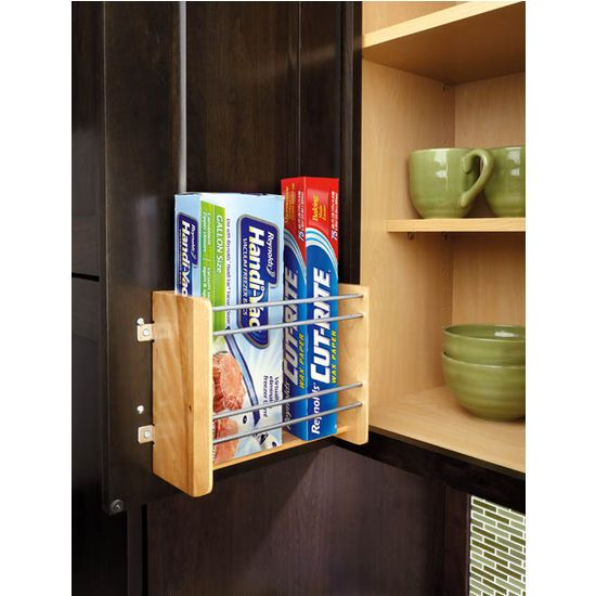 Rev A Shelf Vertical Foil Rack   Kitchen Cabinet Organizers At Hayneedle