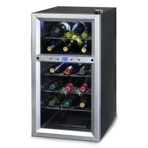 Kalorik WCL 32964 Dual-Zone 18 Bottle Wine Cooler Review