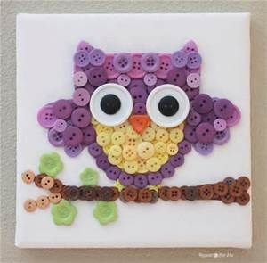 button crafts - Bing images