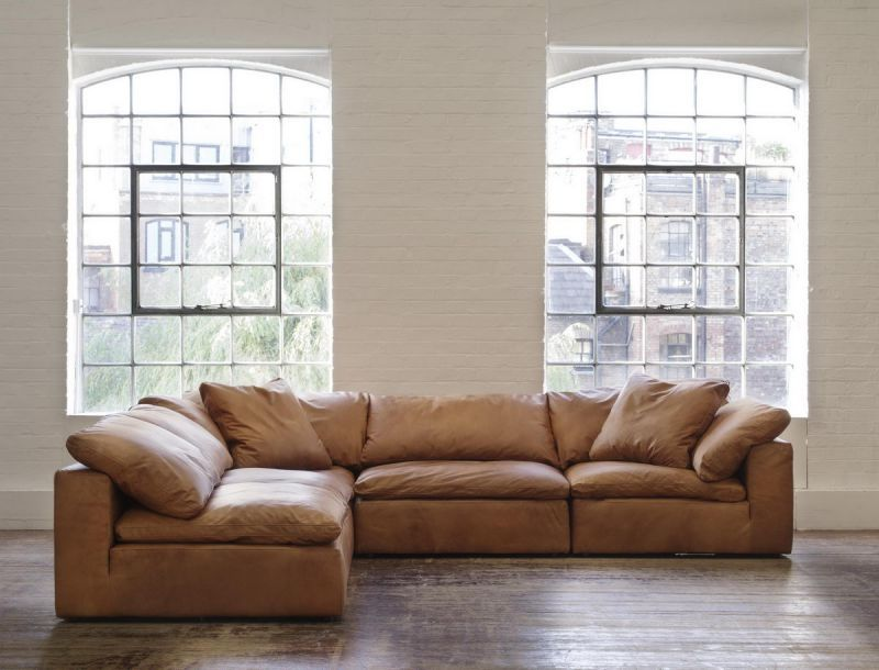 Muebles: Collection Sofas - Truman Sectional Sofa in Tan Leader ...