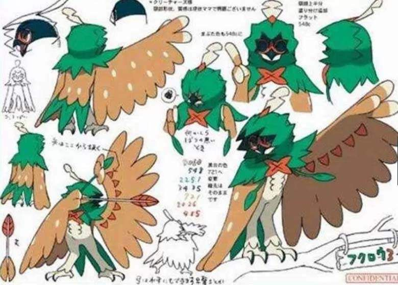 Pokemon Sun Moon Pokedex Leak Final Typings For Robinroot