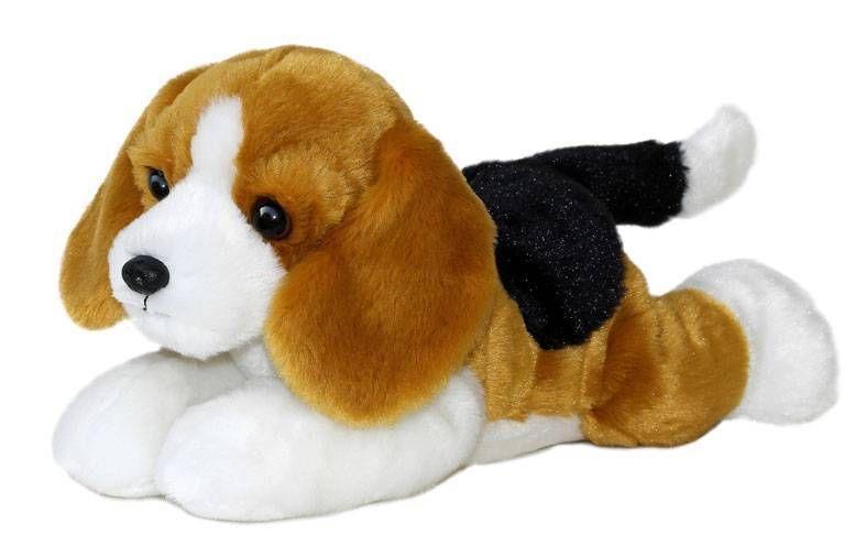 12 Aurora Plush Puppy Dog Beagle Buddy Flopsie Stuffed Animal