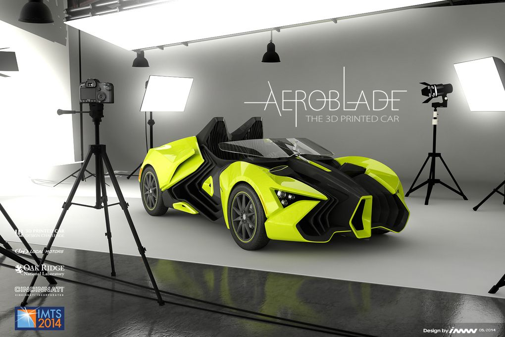 A 3D Printed Car Is Coming That Stretches The Boundaries Of Design