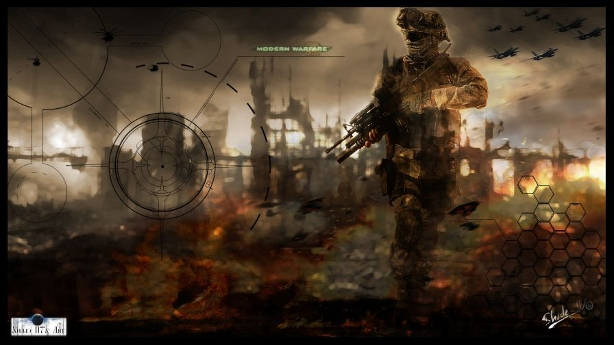 Call Of Duty 4 Wallpaper 4k New Call Duty Modern Warfare 2 Video Game Wallpaper Of Call Of Du In 2020 Modern Warfare Call Of Duty Advanced Warfare