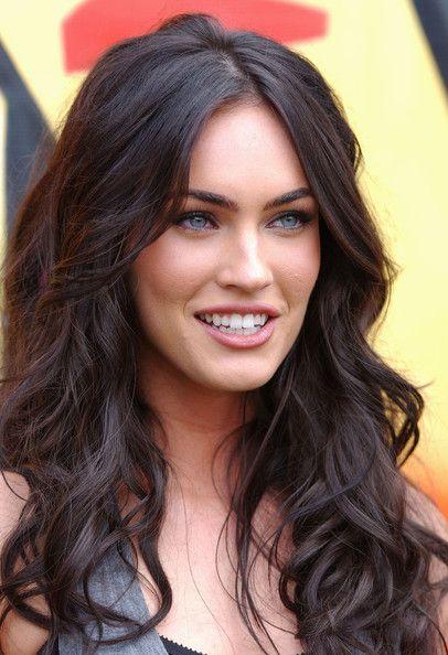 Megan Fox Megan Fox Hair Hair Styles Long Hair With Bangs