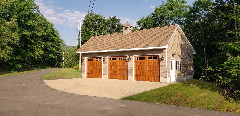 Milton's 3 Car Detached Garage in Frankfort, ME in 2020