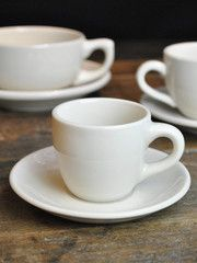"""The heft is unmistakeable, the shapes are classic. Often described as """"retro"""", restaurant china with its simple lines and warm..."""