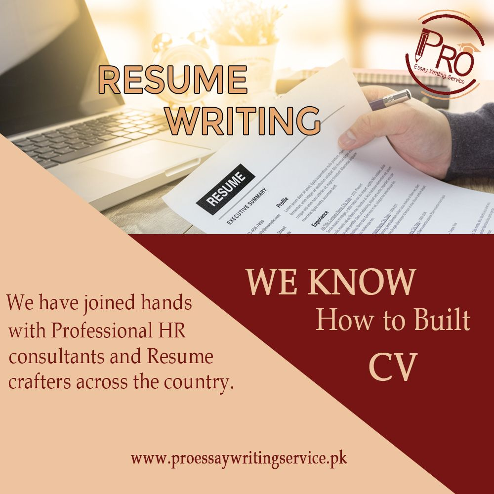 Cv writing services in pakistan