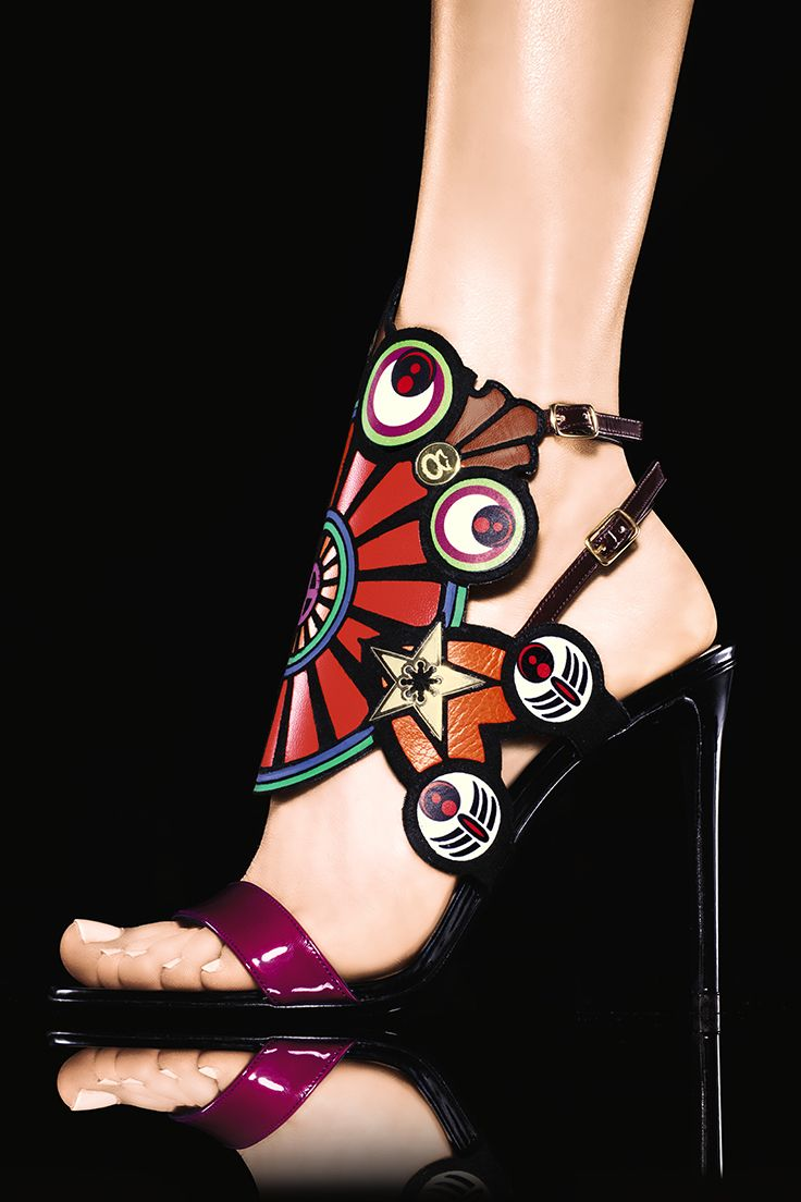 Walk tall in playful #shoes by #NicholasKirkwood.