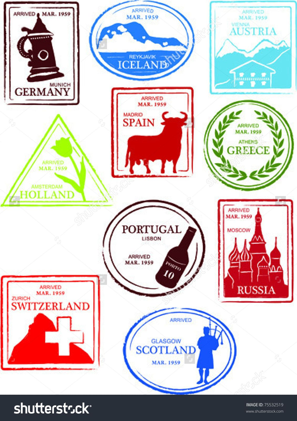 hight resolution of countries of the world passport stamps collect them all google search