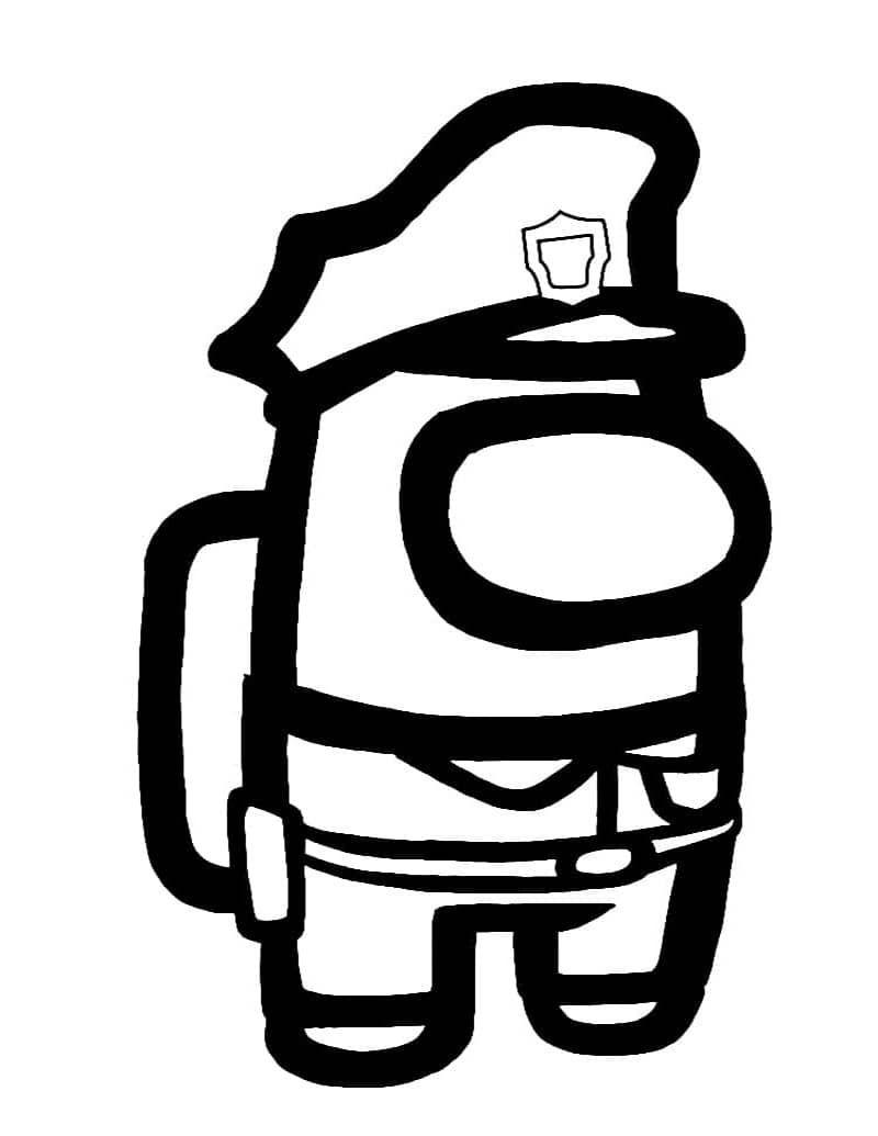 Among Us Police Bundle Superheroes Para Colorear Paginas Para Colorear Para Ninos Dibujos De Policias