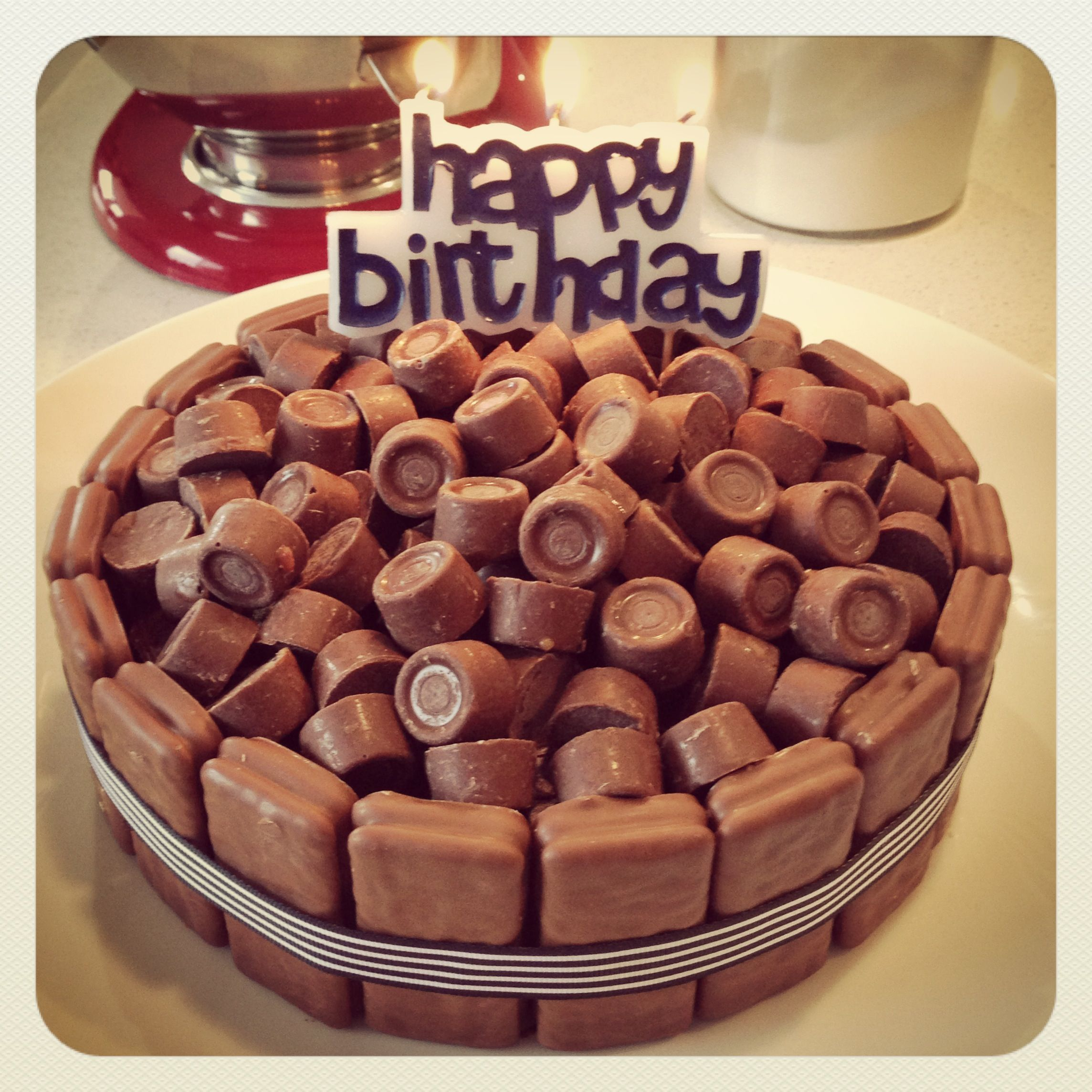 Chocolate Birthday Cake With Tim Tams And Rolos Things Ive Made