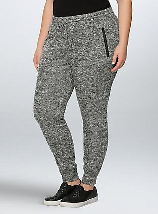 ec21134101a14 Skinny French Terry Jogger Pants