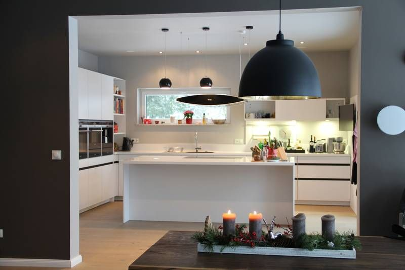 Offene Küche mit SieMatic Mölln - Küchen und Parkettwelt | Häuser ...