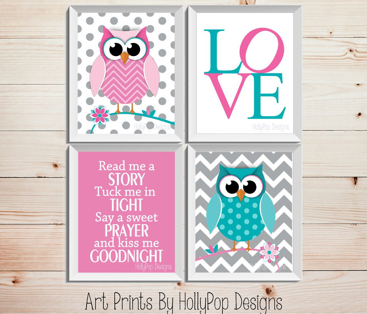 Owl+Nursery+DecorRead+me+A+Story+Tuck+Me+in+by+HollyPopDesigns,+$ ...