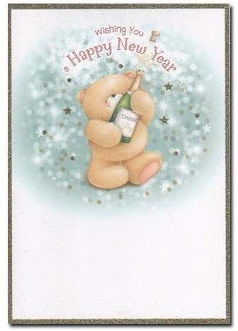 Forever Friends Happy New Year Card Amazon Co Uk Toys Games Happy New Year Cards Friends Forever Forever Friends Cards