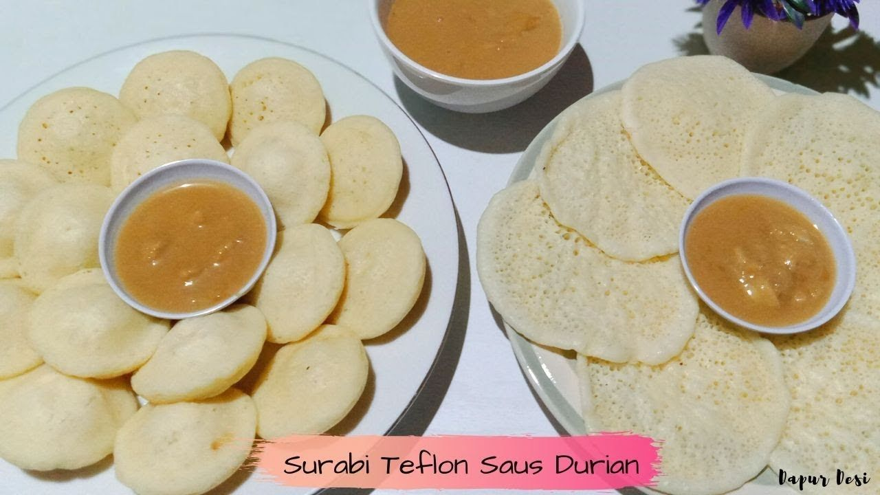 Resep Surabi Teflon Saus Durian Makanan Resep Masakan Resep