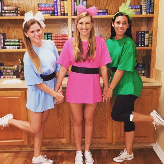 50 Bold And Cute Group Halloween Costumes For Cheerful Girls
