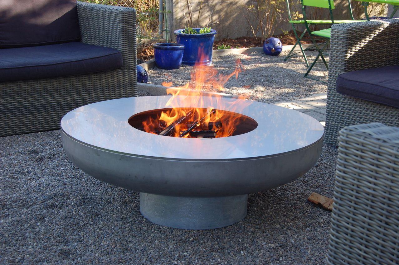 Ofen Terrassenofen Feuersaule Feuerschale Feuerstelle Corten Feuerstelle Feuersaule Feuerstellen Im Freien