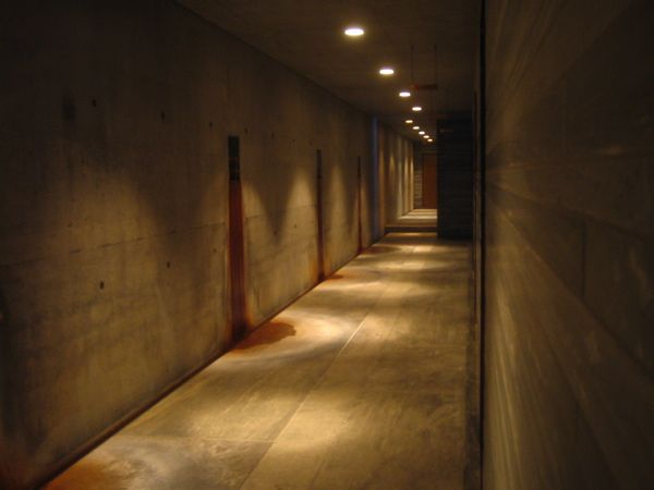 therme vals peter zumthor water stain - Google Search