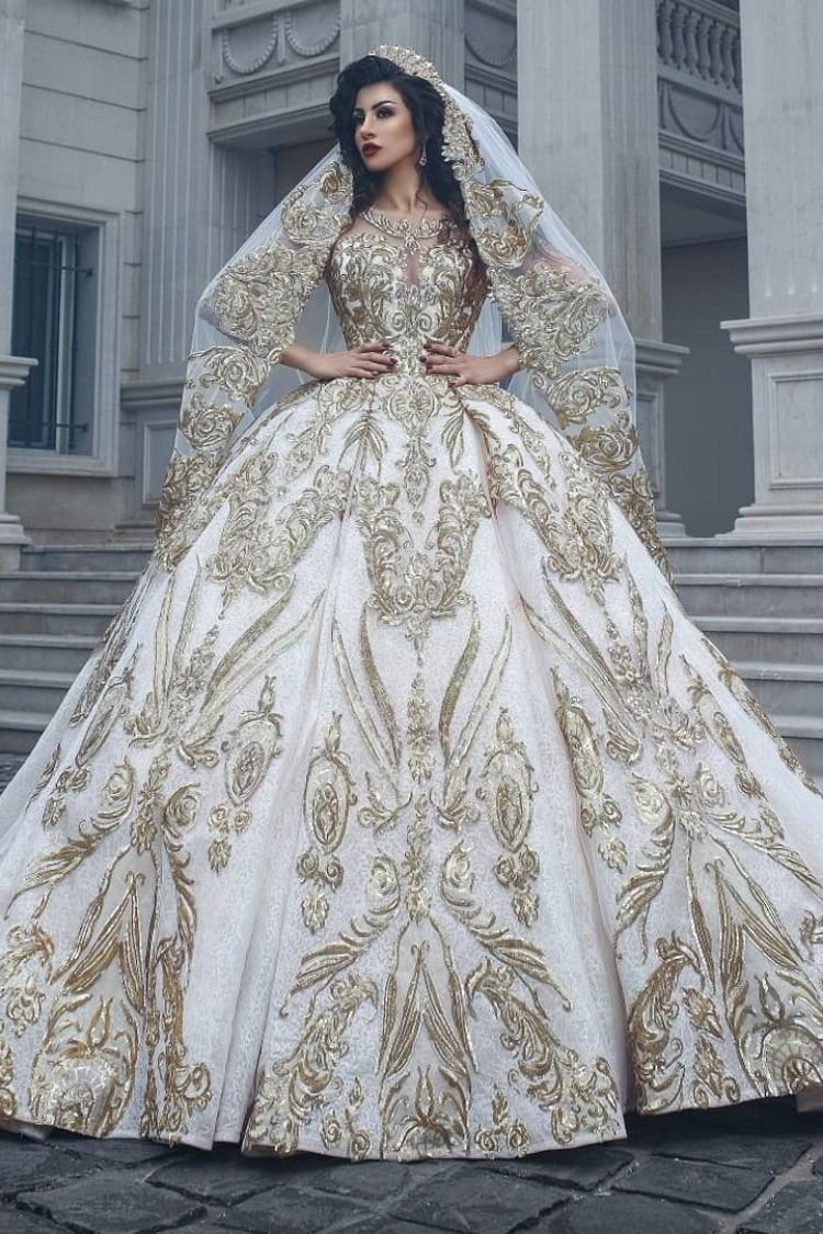 Eden Couture Wedding Gown Gold Wedding Gowns Wedding Dresses Lace Bridal Gown