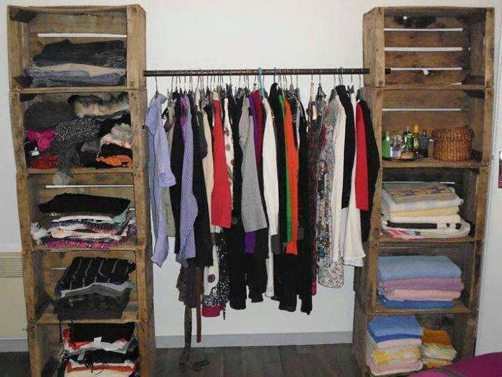 armario con cajones y barral diy casa casita en. Black Bedroom Furniture Sets. Home Design Ideas