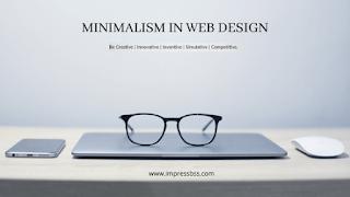 The fundamentals of minimalist Web design