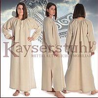Kleid bzw. Unterkleid (Chemise)
