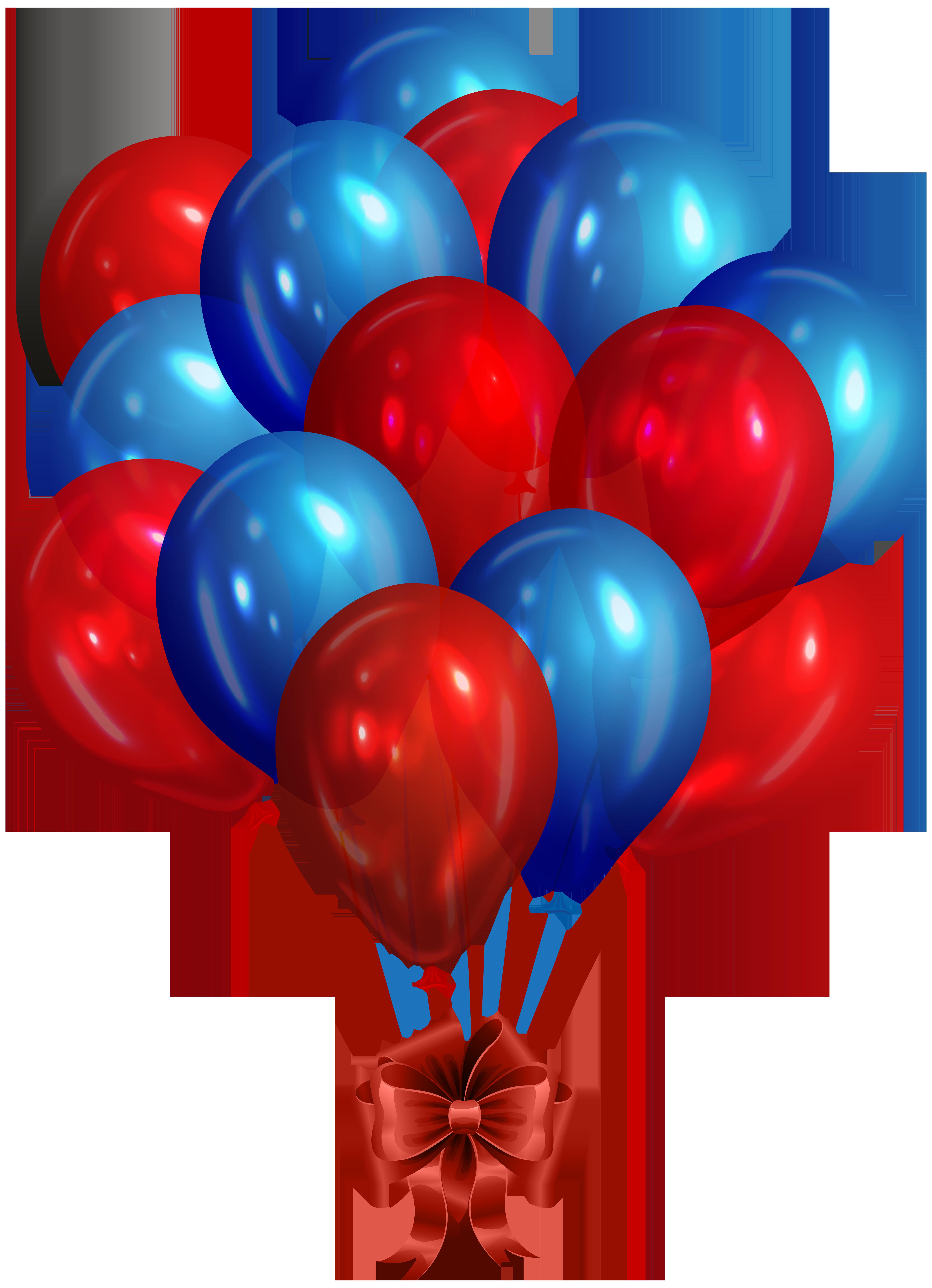 Blue And Red Balloons Balao Vermelho Imagens De Baloes Baloes Azuis