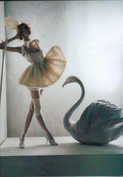 Olga Sherer in Vogue Italy January 2008