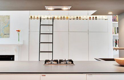Best Two Tiers Of White Ikea Pantry Cabinets With A Library 400 x 300