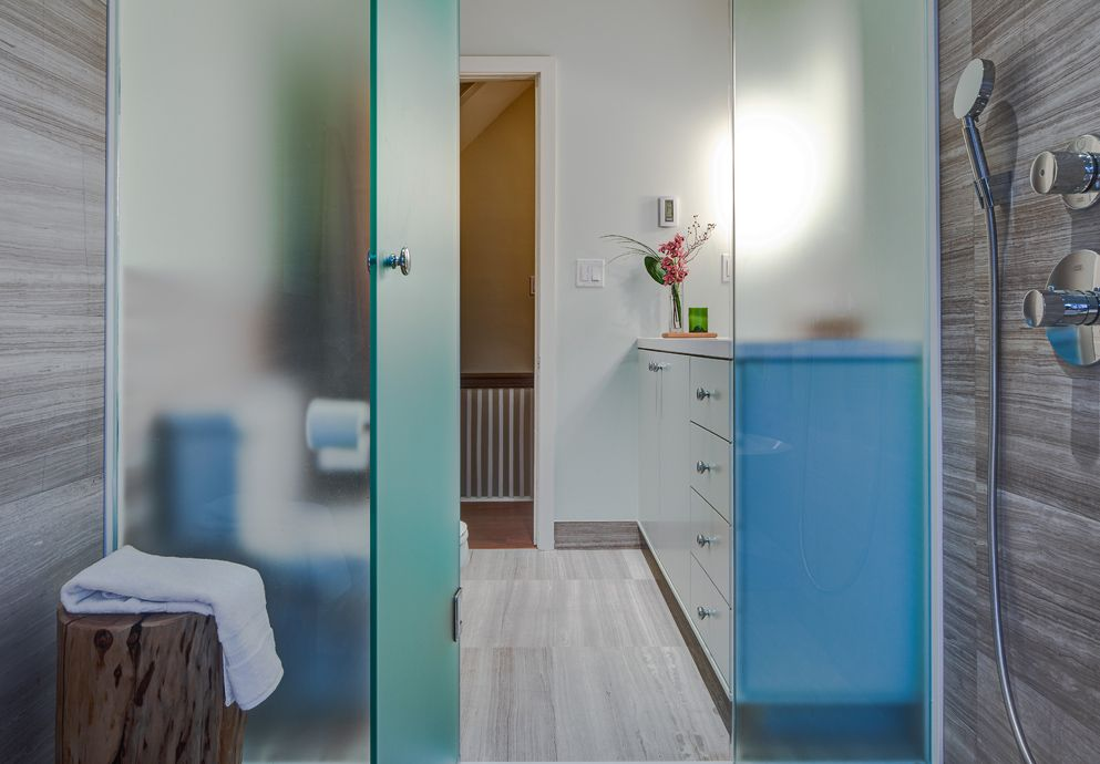 Bathroom Design Toronto Delectable Renovated Riverdale Bathroombeauparlant Design Toronto Design Inspiration