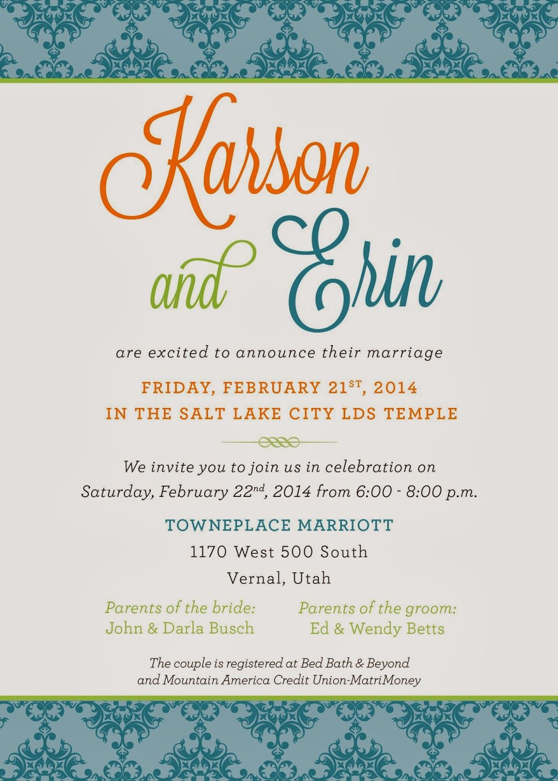 Wedding Invitation Wording click to the website for tons of more