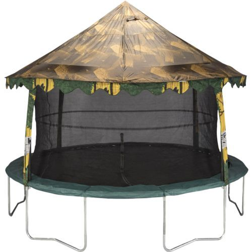 Jumpking 14' Trampoline Canopy Cover Brown