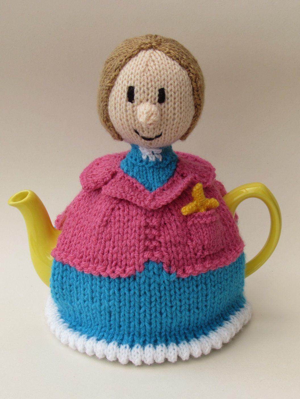 Lady Vicar tea cosy knitting pattern | Tea cosy knitting ...