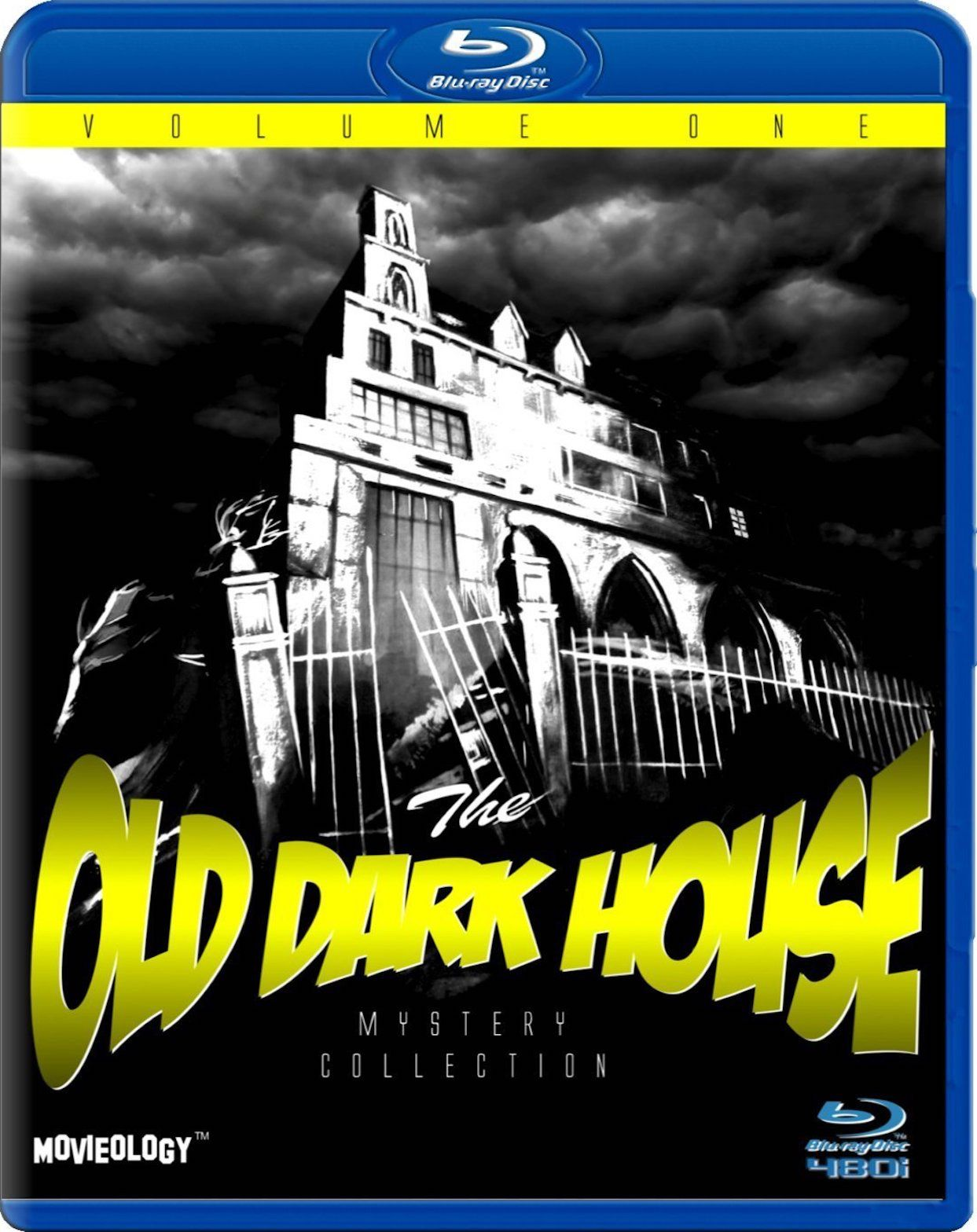 THE OLD DARK HOUSE MYSTERY COLLECTION VOLUME ONE BLU-RAY
