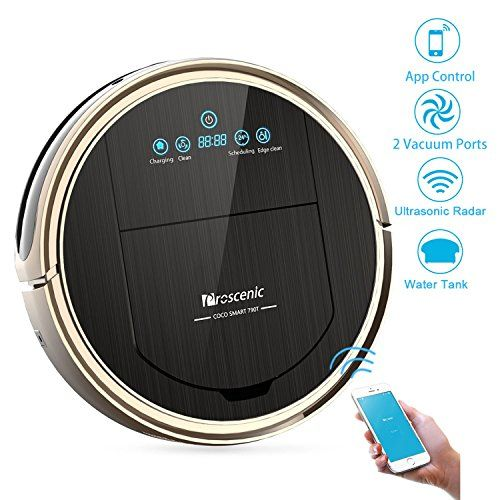 Proscenic 790t Wifi Robotic Vacuum Cleaner Smartphone App Remote Control Auto Charging Ultrasonic Rada Robot Vacuum Cleaner Robot Vacuum Wet Dry Vacuum Cleaner