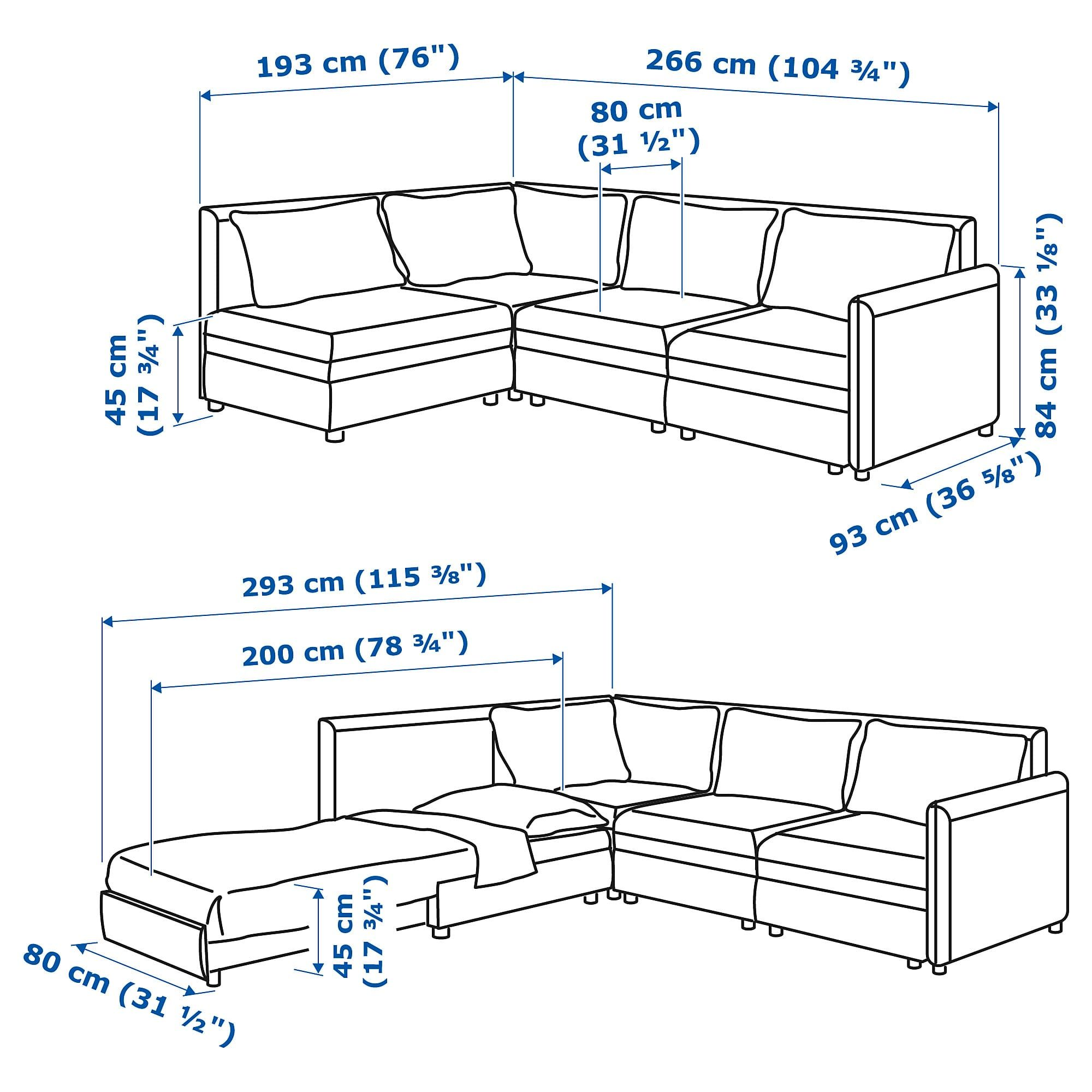 Vallentuna 4 Seat Modular Sofa With 3 Beds Ikea Vallentuna Mod Sectional 3 Seat W Slpr Sect And Storage