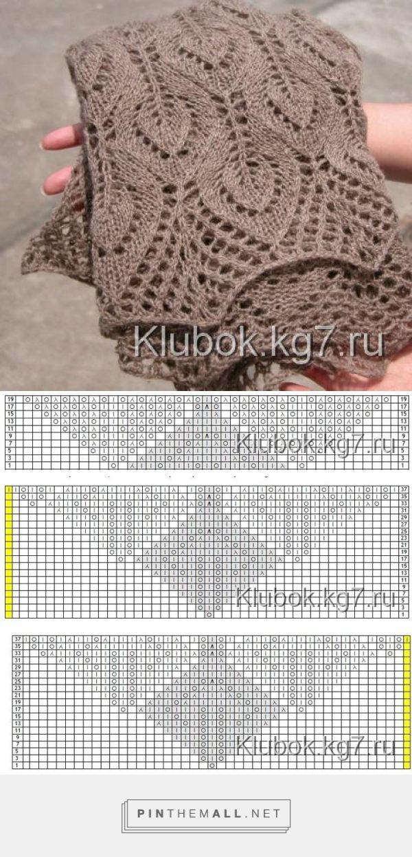 Pin de Agnieszka Dalmata en wzory / pattern | Pinterest | Dos agujas ...