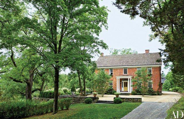 Look Inside An Elegant 18th Century Farmhouse In New York S Hudson