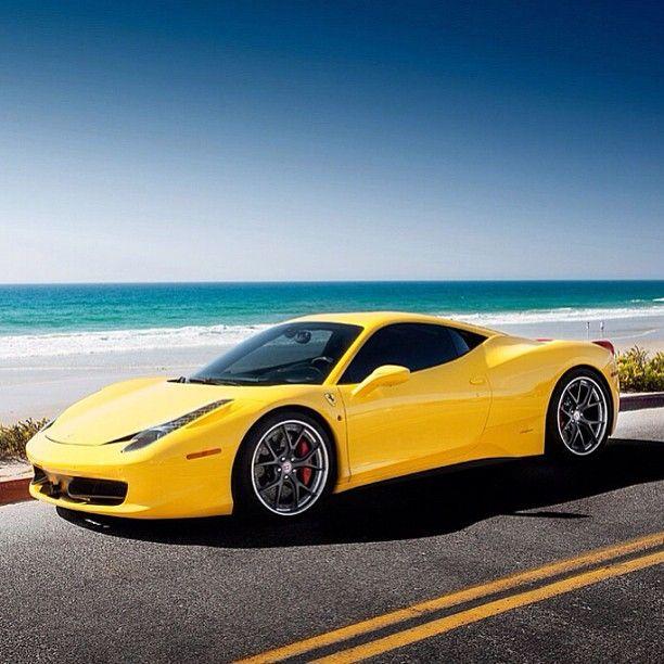 Ferrari Italy: Gorgeous Ferrari 458 Italia. Proving Ferrari's Don't