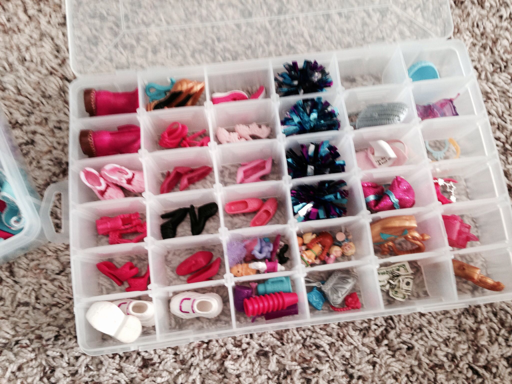 Barbie Organizing Barbie Pinterest Organizations Organizing - Barbie doll storage ideas