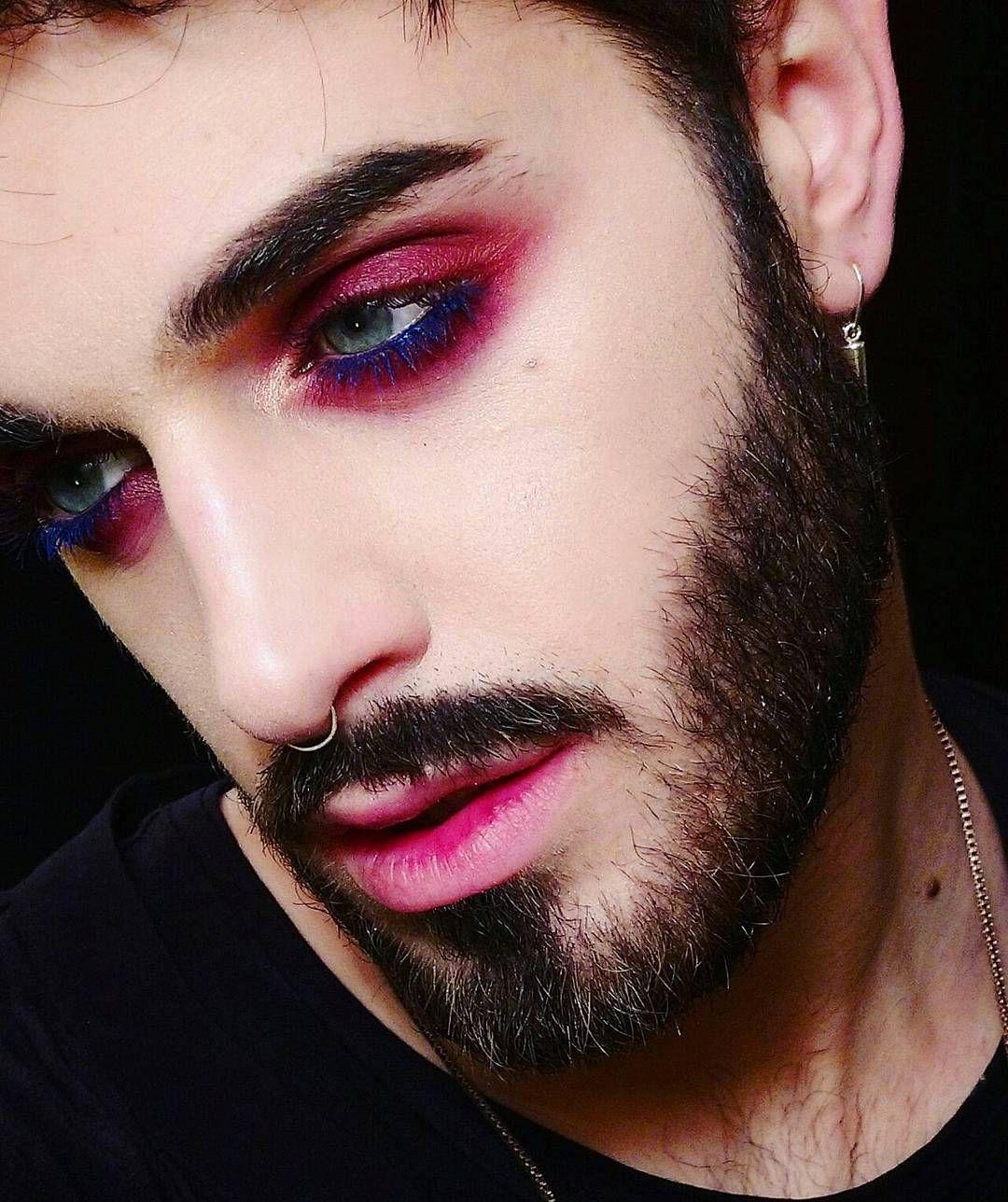 makeup makeupoftheday makeupforever malemakeup