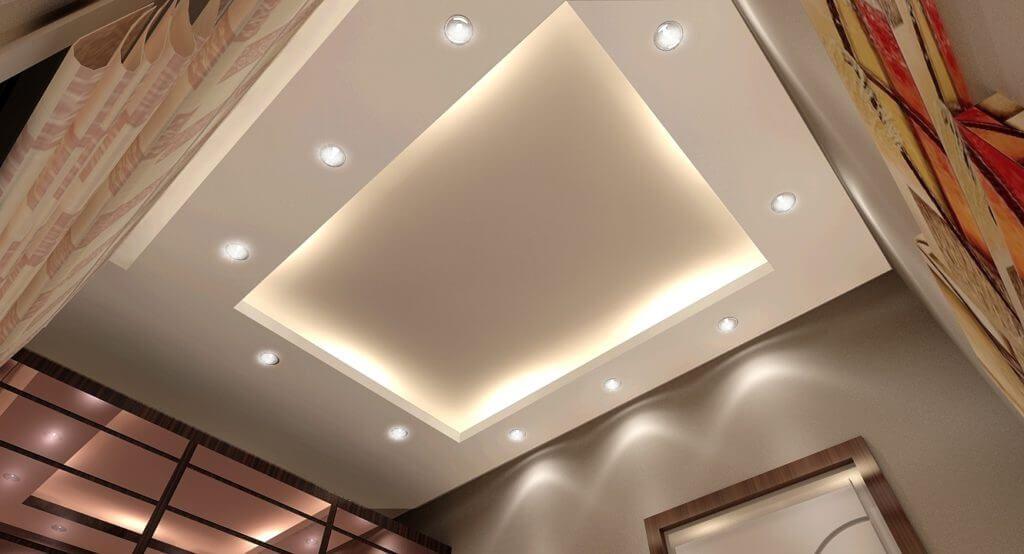 اسقف جبس بورد واشكالها المختلفة Plafond Design Ceiling Design False Ceiling Design